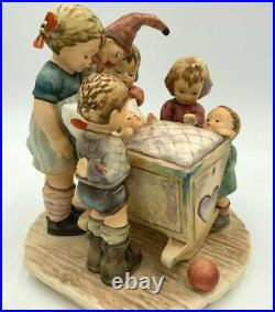 LARGE Hummel Figurine ROCK-A-BYE # 574 CENTURY COLLECTION With COA BOX EXCELLENT