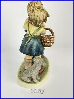 Large 7in Follow The Leader Hummel Goebel #369 Dated 1964 TMK5 Artist Initialed