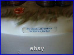 Large Goebel Century Collection Hummel We Wish You The Best #600