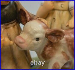 Large Goebel Hummel FARM DAYS #2165 Limited Ed. Hand Initialed & Numbered (JMR)