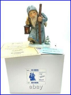 Large Goebel Hummel Ruprecht #252 Father Christmas Hand Signed Coa Box Euc