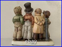 Large Hummel Goebel Harmony In Four Parts Figurine Damaged