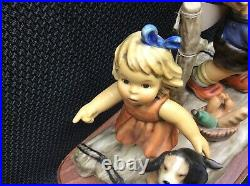Large MI Hummel Goebel Summer Adventure Figurine #2124