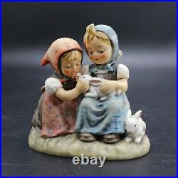 Lot of 4 Vintage Hummel Goebel Figurines Animals & Children TMK 3-6