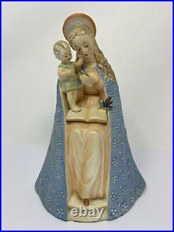 MI Hummel Goebel Virgin Mary with Baby Jesus Madonna and Child Ceramic 10/1