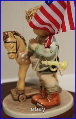 M. I. Goebel Hummel Figurine Prayer Before Battle Ambassadors of Freedom HUM 20/II