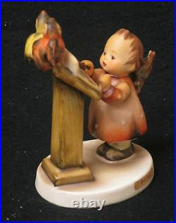 M. I. Hummel 4 Bird Duet Figurine #169, Tmk 3. Made In Germany