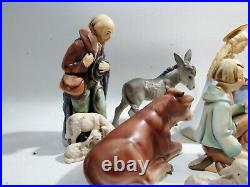 M. I. Hummel Goebel 11 Piece #214 Nativity Set TMK-4 Reinhold Unger
