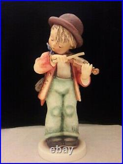 M. I. Hummel, Little Fiddler, 13/iii, 12 3/4 Tmk-8, Mib, Free Ups Shipping/ins