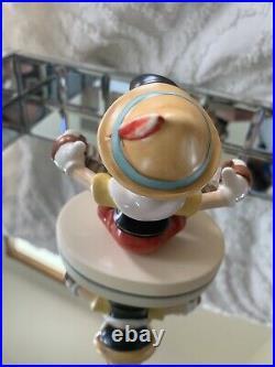 NEW CONDITION Goebel Hummel Disney Pinocchio Music Time Figurine RARE