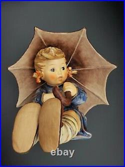 Nice Large Size Vintage 8 Umbrella Girl #152 II B Goebel Hummel Figurine Tmk5