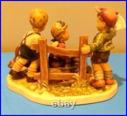 PRICE DROP Hummel Goebel, SOAP BOX DERBY, Porcelain Figurine, #2121, WONDERFUL