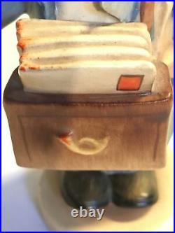 Postman Goebel Hummel Mailman Figurine #119 TMK1 U. S. Zone Germany Vintage