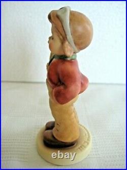RARE GOEBEL Hummel Figurine FIRST PLACE # 2357 TMK10 PODIUM BASE MINT