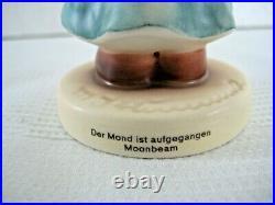 RARE GOEBEL Hummel Figurine MOONBEAM Angel #2376 SWAROVSKI TMK10 MINT