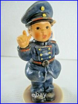 RARE GOEBEL Hummel HALT! #2039 NYPD LE 128 OF 5,000 TMK8 with Base MINT