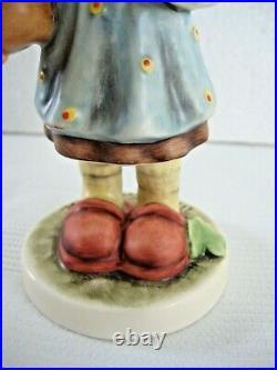 RARE GOEBEL Hummel LUCKY GIRL #2387 TMK10 SWAROVSKI LE OF 1,999 MINT