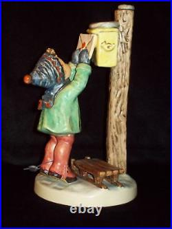 RARE HOLIDAY ARBEITSMUSTER HUMMEL #340 LETTER TO SANTA CLAUS Tmk 6