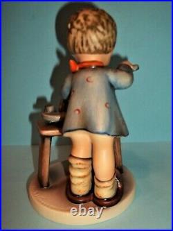 RARE Hummel Figurine #345 A Fair Measure TMK 5 OLD STYLE EYES OPENMINT