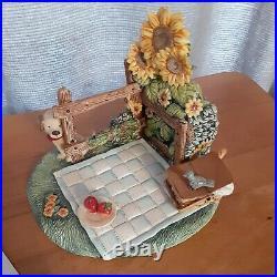 RARE Hummel Goebel Set-Teddy Bear Musical Picnic Display & Teddy Tales