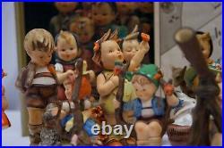 RARE OLD Goebel Hummel Figurines Lot of 21 (Most FULL BEE TMK-2, Some TMK-4)
