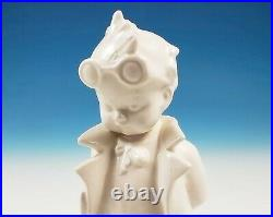 RARE White Overglaze Hummel 127 Doctor Figurine Goebel Unpainted Doll Repairer
