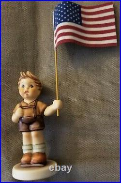 Set of 5 Goebel Hummel Figurines Patriot Series