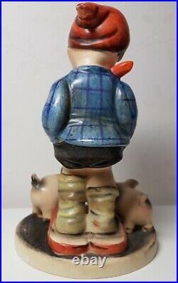 VERY RARE GOEBEL HUMMEL #66 Farm Boy TMK 1 CROWN INCISED 5,4 Tall