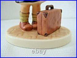 VERY RARE GOEBEL Hummel Figurine OFF ON A NEW ADVENTURE #2359 TMK10 MINT
