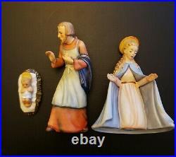 Vintage 1951 Hummel Goebel Nativity Jesus, Mary, & Joseph 214 A, K, B