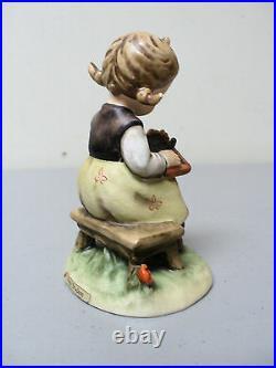 Vintage 1963 Hummel Goebel West Germany Busy Student Figurine #367