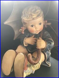 Vintage 8 Hummel Umbrella Girl Figurine 152/II/B By Goebel W Germany 1957