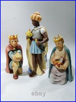 Vintage Goebel Hummel 11 Piece #214 Nativity Set TMK-4 Reinhold Unger