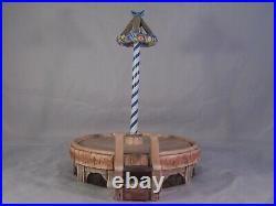 Vintage Goebel Hummel Carousel Dancefloor Maypole With Turntable With Box # 22254