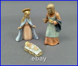Vintage Goebel Hummel Nativity Lot Joseph, Virgin Mary, Infant Jesus TMK 6