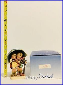 Vintage Goebel Hummel STORMY WEATHER Hum #71 TMK6 In Box