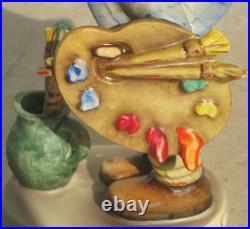 Vintage Hummel #304 The Artist TM4 Three Line Bee W. Germany Very Rare