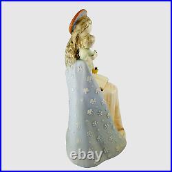 Vintage Hummel FLOWER MADONNA with CHILD Figurine 10/1 Full Bee Germany TMK 2