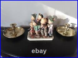 Vintage Hummel Figurine ADVENTURE BOUND #347, TMK-4 1957 flaws