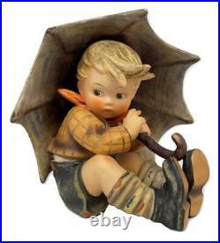 Vintage Hummel Goebel Germany Umbrella Boy Porcelain Figure Figurine 152