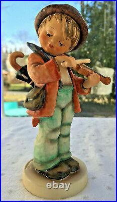 Vintage Hummel Goebel LG Little Fiddler TALL 8 TMK 5 Boy w violin excellent