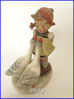 Vintage Hummel Goose Girl Figurine HUM 47/0 By Goebel TMK 2
