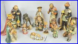 Vintage Hummel West Germany Nativity Set 16 Piece HX323 Goebel Beautiful Set