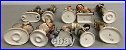 Vintage Lot HUMMELS GOEBEL W. Germany, 10 Pcs Total Beautiful Condition