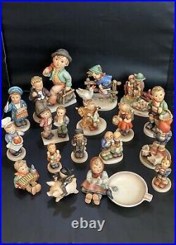 Vintage Lot of 18 Goebel Hummel Germany Figurines TMK5 TMK6 -Excellent Condition