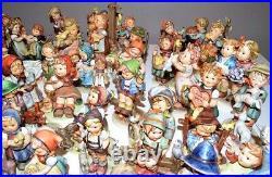 Vintage Lot of 80 Goebel Hummel Figurines Mid 1960's to 2004 Excellent