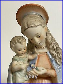 Vintage M. I. Hummel Goebel W. Weitz Dusseldorf Virgin Mary Madonna Baby Jesus