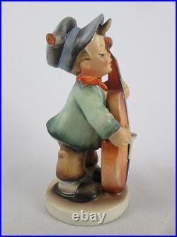 Vintage Sweet Music MI Hummel Figurine 186 TMK1 Incised Crown Goebel Boy Germany
