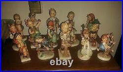 Vintage lot of 20 Hummel porcelain figurines. Goebel W. Germany