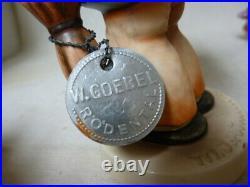 WORLD WIDE UNKNOWN old rare MI Hummel/Goebel figurine 2 times 335/0